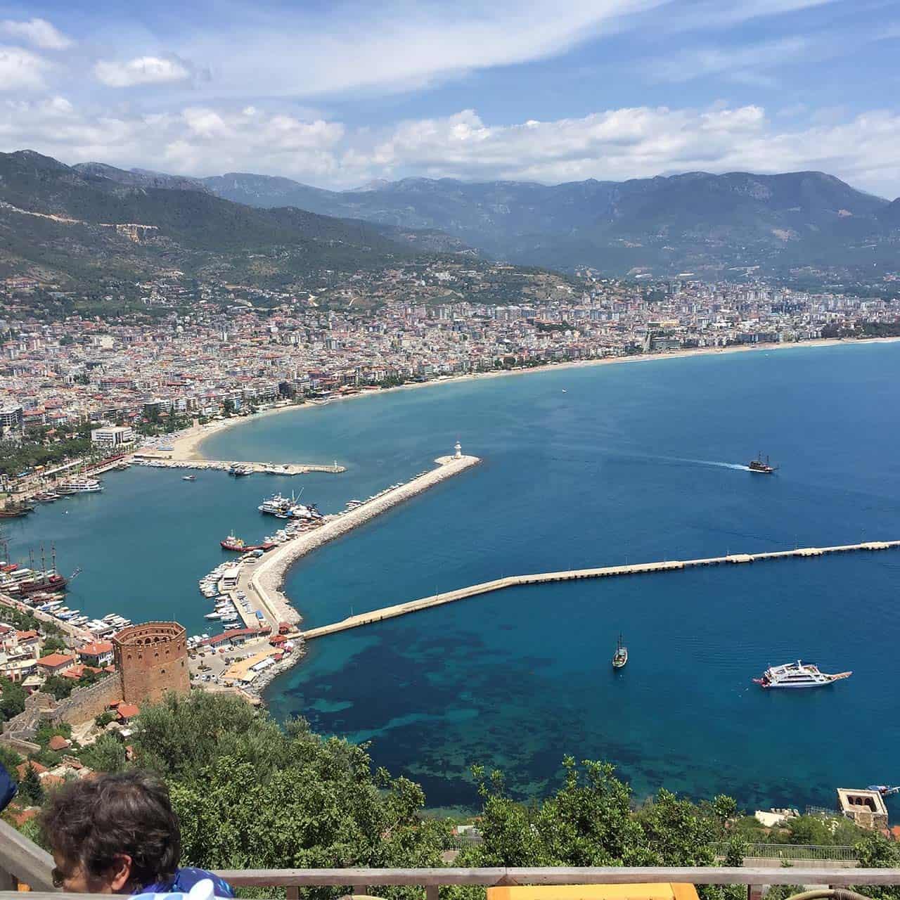 Alanya Hafen Panorama